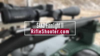The new Sako Finnlight II sports an innovative stock and Cerakote metal paired with the terrific 85 action.