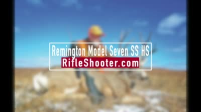 The Remington Model Seven is ready, willing and able to handle just about any task.