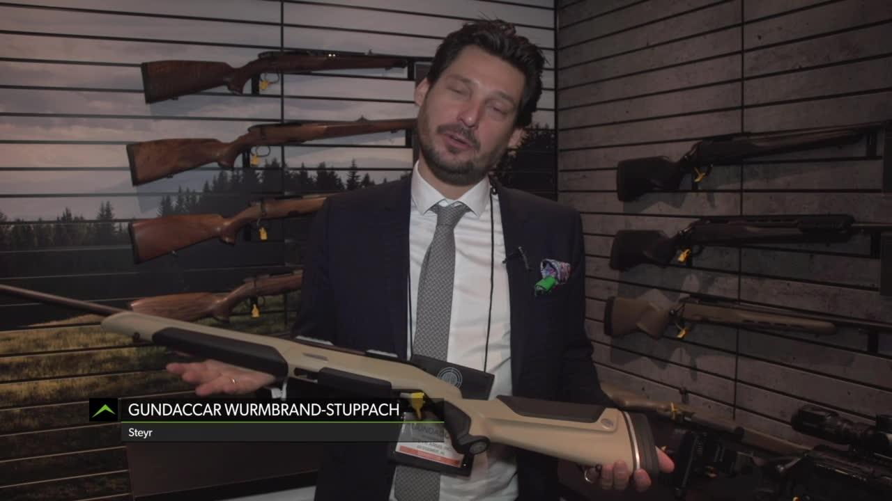 SHOT Show 2019: Steyr Monobloc Bolt-Action Rifle