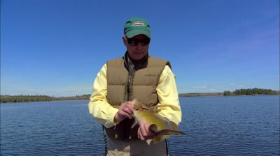 Doug is out on early spring open water giving tips about catching smallies.