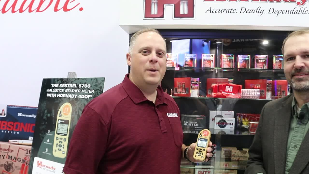 Hornady's New A-Tip Line of Match Bullets