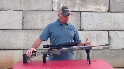Rifles and Optics editor Tom Beckstrand shows you the new 110 Elite Precision and the features that make this bolt action rifle unique.