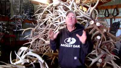 Rattling antlers will attract a whitetail buck's attention. Crash Course host Mark Kayser tells us when and how.