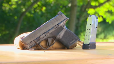 The new Springfield Hellcat 9mm subcompact pistol — standard and OSP models — may claw its way to the top of the concealed-carry market with better ammunition capacity.