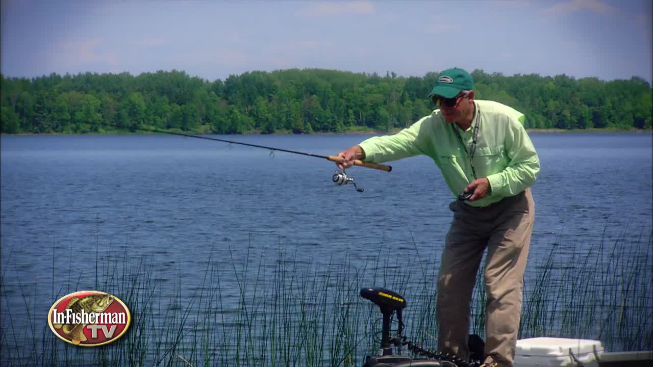 Long pole crappie fishing in shallow, weedy areas might seem harder than you think. Doug shares a few tips on how he catches crappies this way.