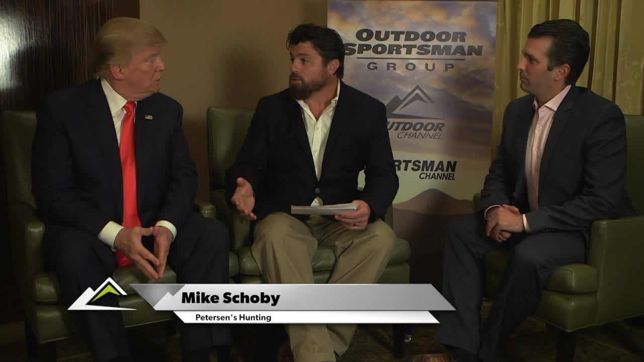 Questions and Answers at the Outdoor Sportsman Awards with Donald Trump