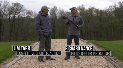 "In this segment of ""Guns & Ammo TV,"" Gun Tech Editor Richard Nance and Pro-Shooter Jim Tarr head to the range to wring out the Umarex Air Ruger 10/22."