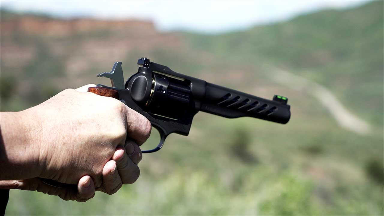 The Ruger Super GP100 Competition Revolver