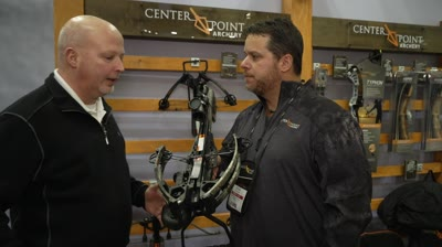 CenterPoint Archery evolves in design and performance with the introduction of the new CP400 Crossbow.