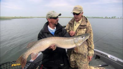 Impressive Walleye and Pike fishing at this great destination.