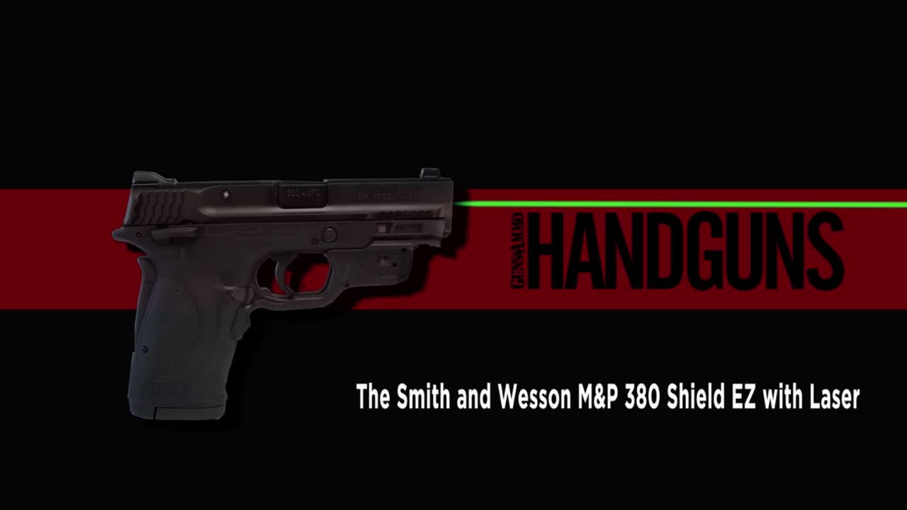 Handguns editor J. Scott Rupp reviews the new Smith & Wesson M&P380 Shield EZ with laser.