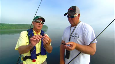 Doug is with Capt. Bret Alexander in Green Bay, rediscovering the hair jig.