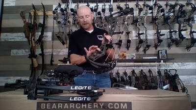 <p>Bear Archery's newest bows - Redemption EKO and Legit RTH - are light, adjustable and fast.</p>