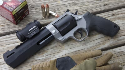 Chambered in .460 S&W, which can generate more than 2,200 foot-pounds of energy, the new Taurus Raging Hunter 460 Revolver is one bad bull; learn why in this video review.