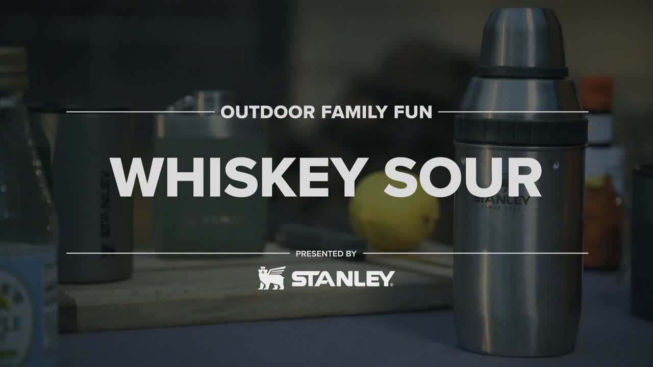 Getting away doesn't always require time-consuming plans and expensive trips. A simple whiskey sour or old fashioned can be mixed up and poured for your favorite person on your back patio as the sun fades below the horizon.