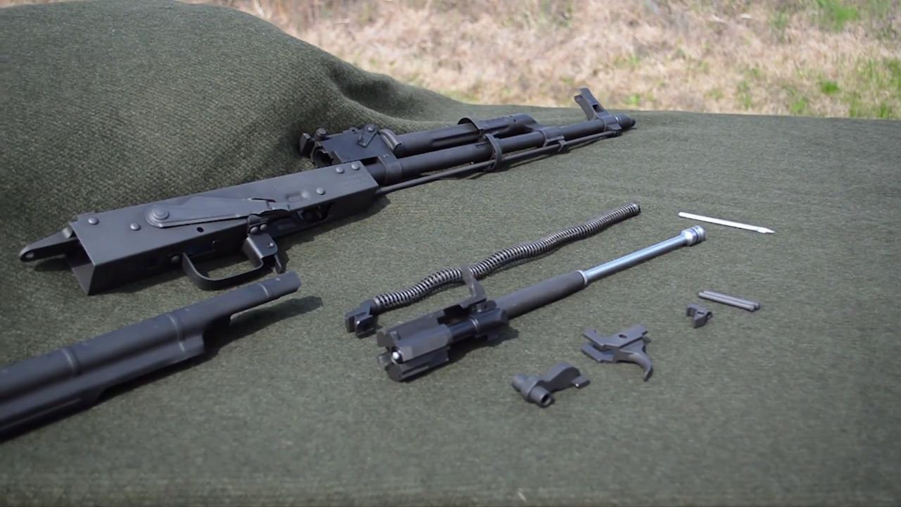 High Standard AK-47 Barrel & Receiver Kit