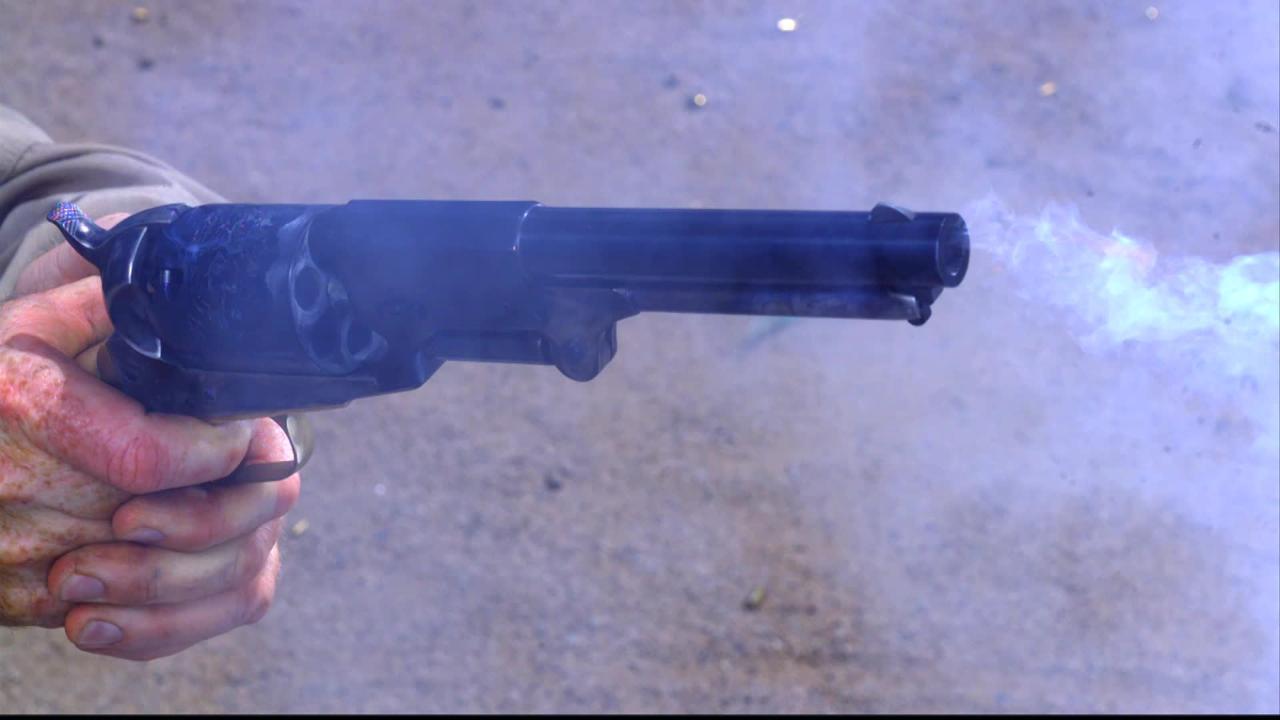 Colt Cap & Ball- 'Gun Stories'