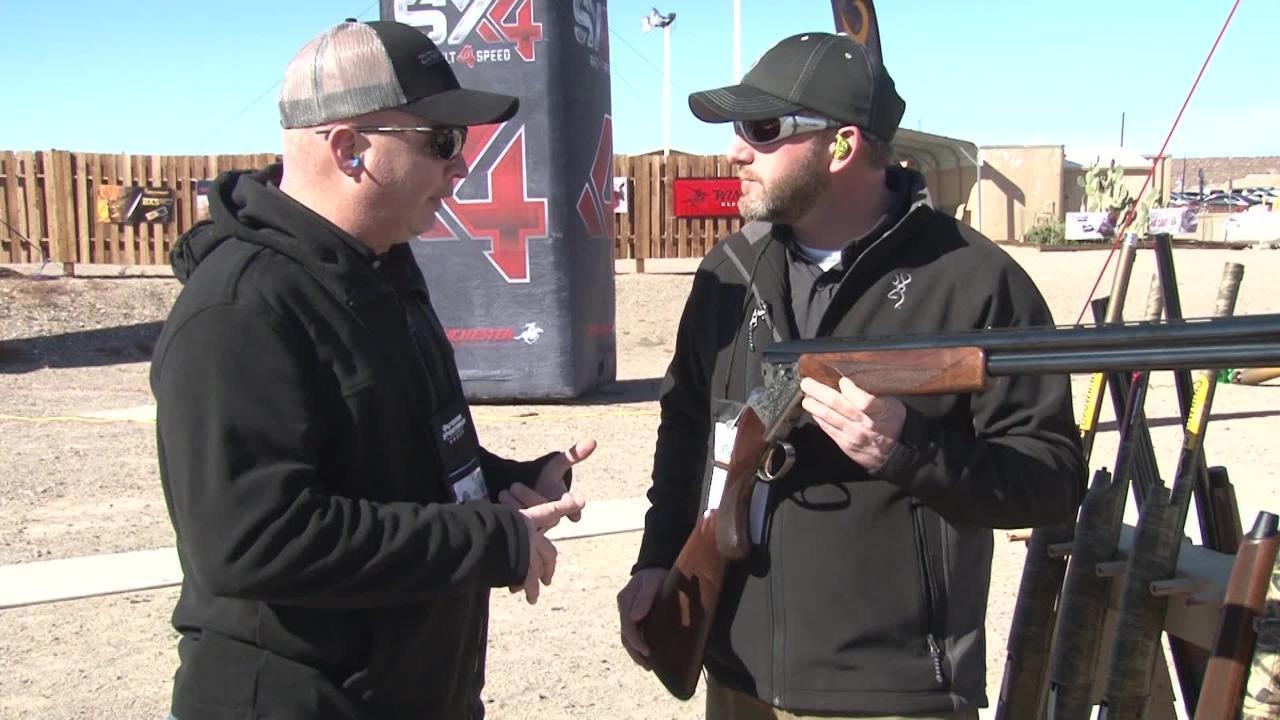 New 2018 Upland Shotgun: Browning Citori White Lightning Ove